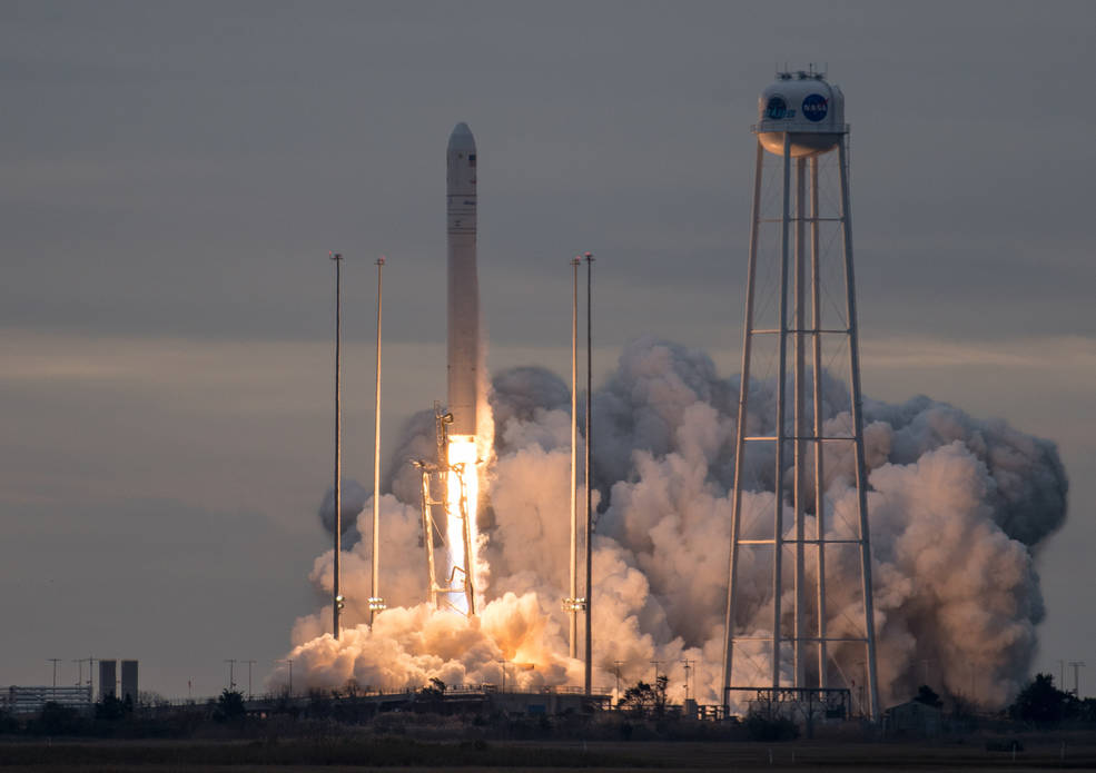 Orbital ATK's eighth contracted cargo delivery flight