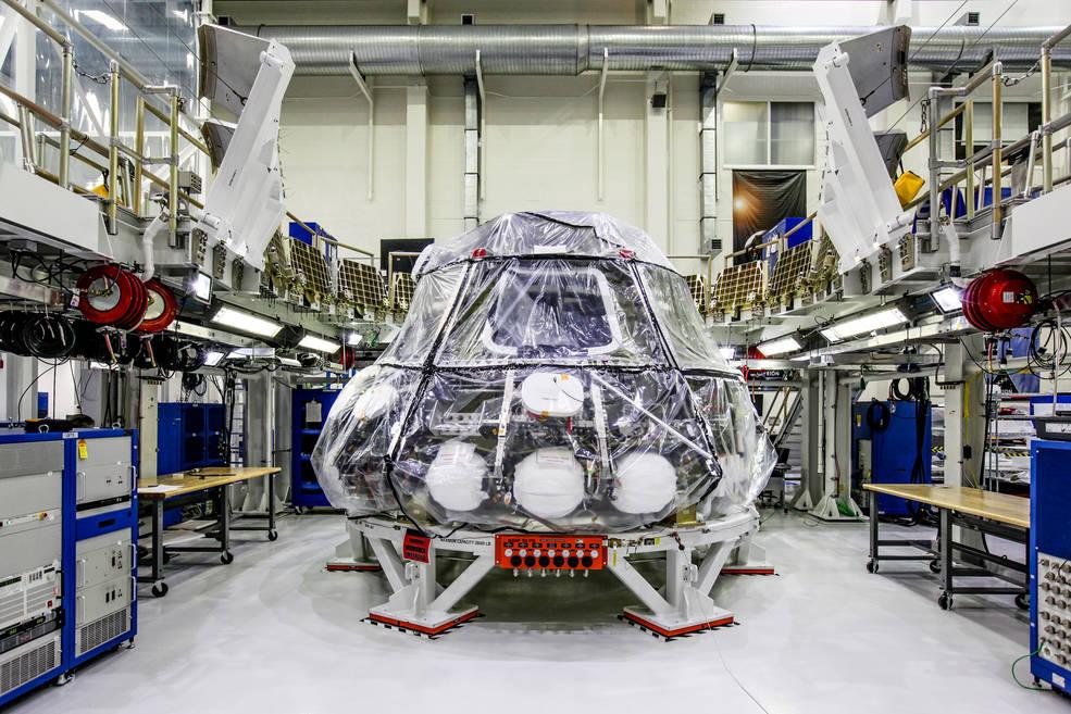 Электроника космического корабля Orion прошла первые тесты