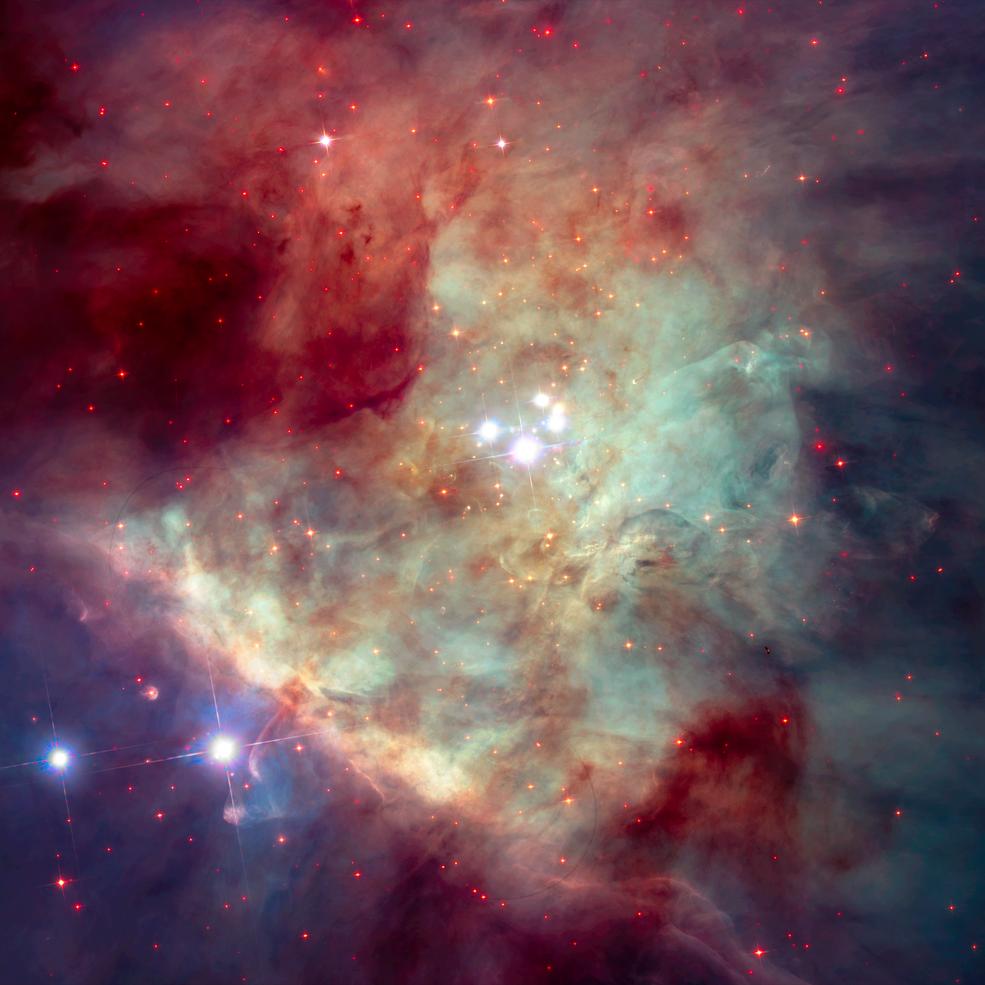 Webb de la NASA estudiará cómo las explosiones de radiación de estrellas masivas influyen en sus entornos
