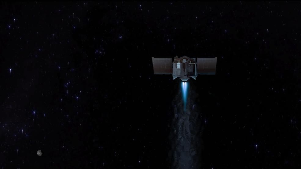 Planes de la misión OSIRIS-REx de la NASA para la salir del asteroide y emprender el viaje de vuelta a casa