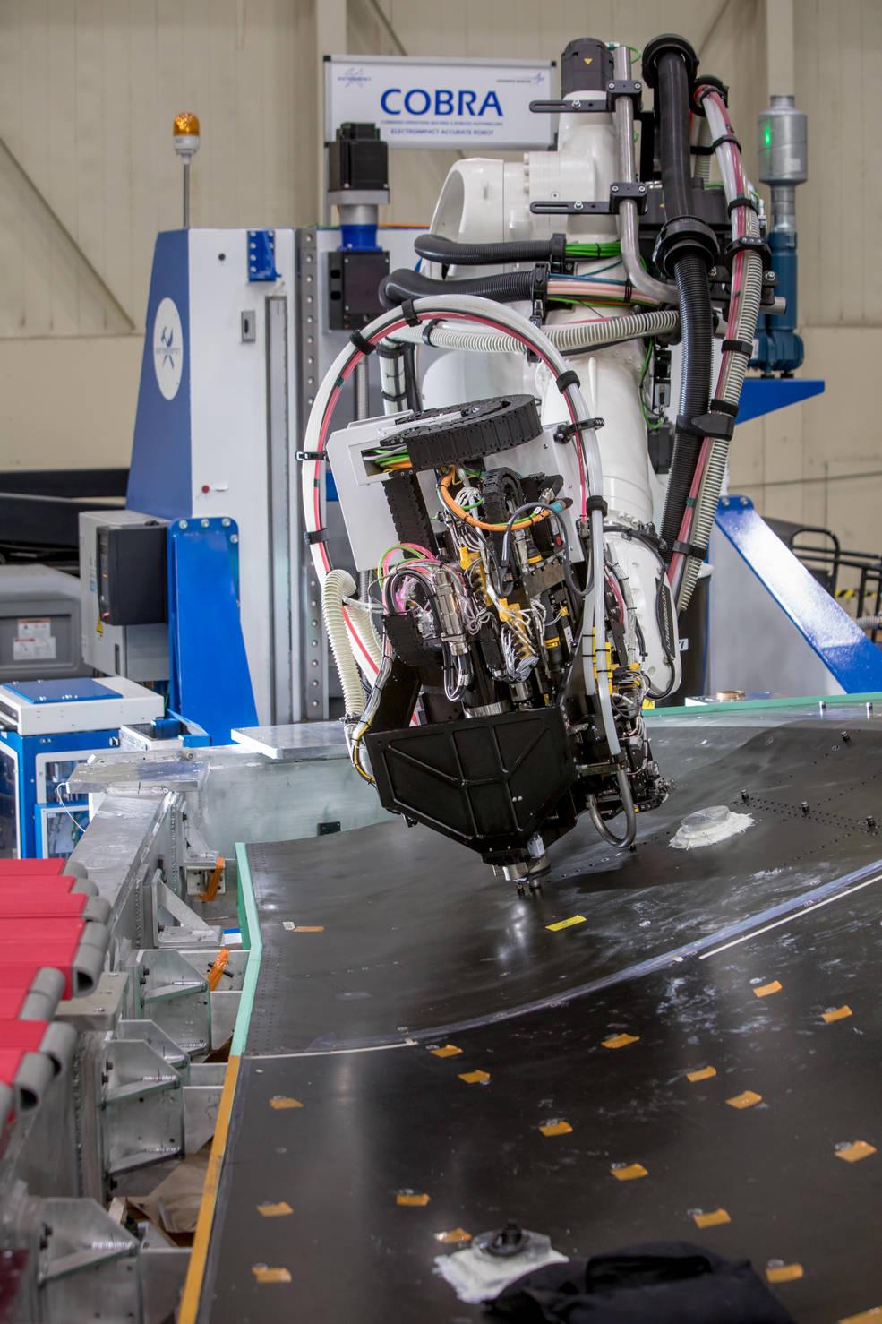 COBRA, a robotic autodrill system.
