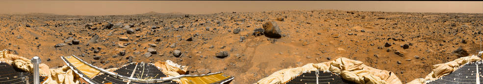 Mars Pathfinder panorama