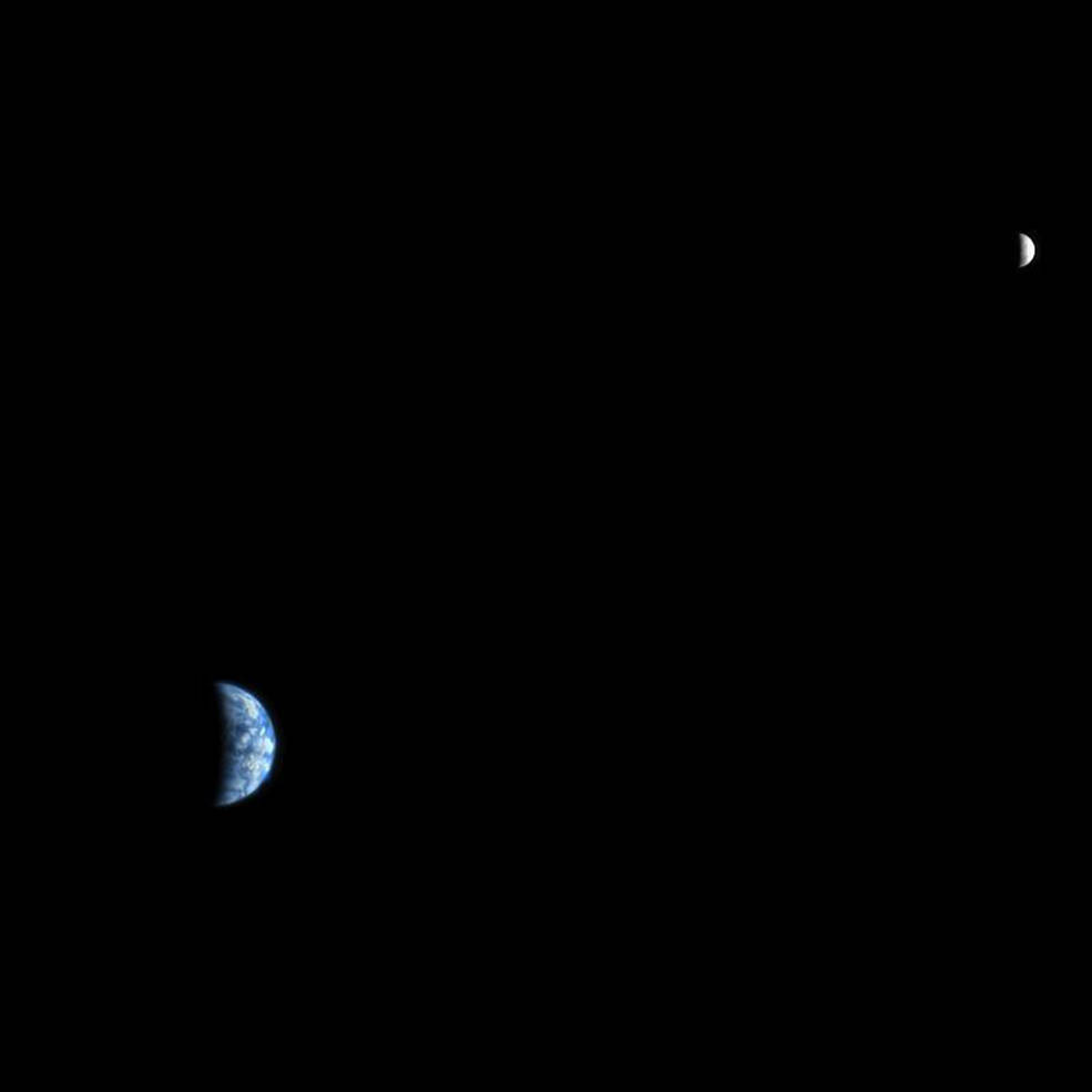 Earth and Moon as Seen...