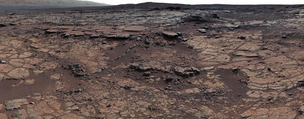 Bedrock on Mars