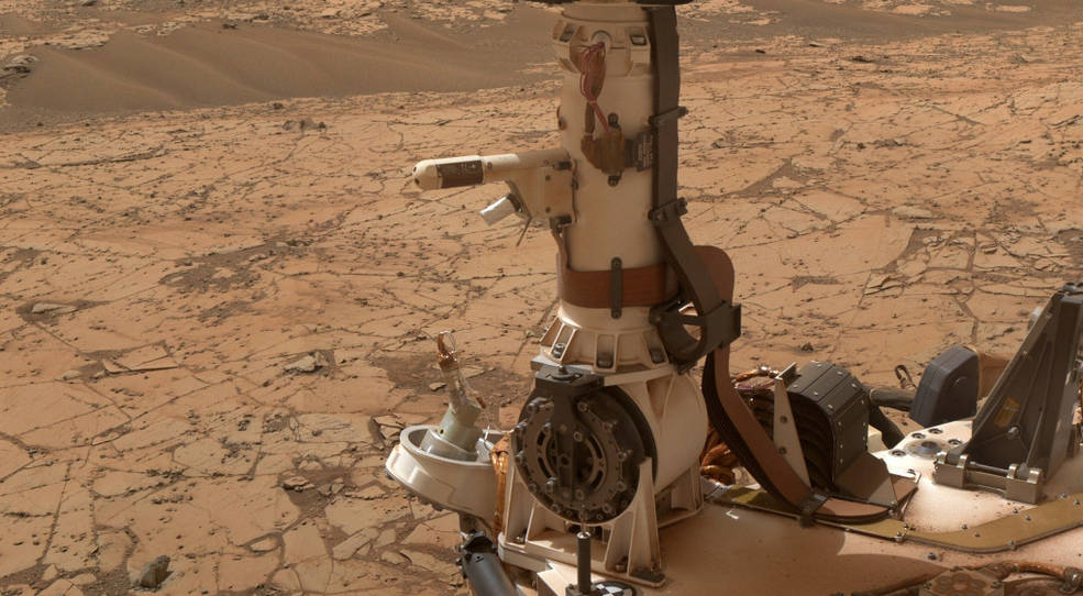 Rover Environmental Monitoring Station (REMS) on NASA's Curiosity Mars rover