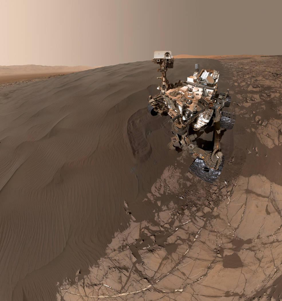 Sandy Selfie Sent from NASA Mars Rover | NASA