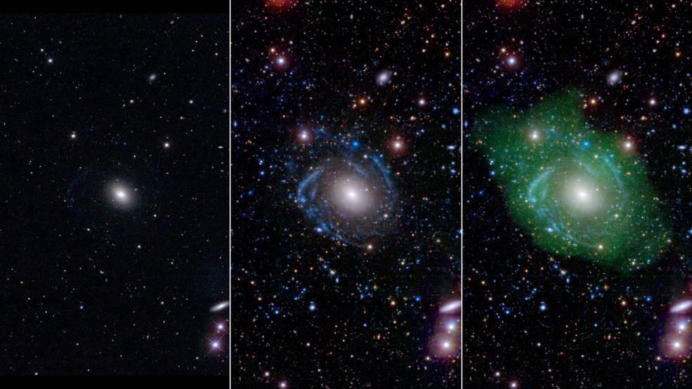 Unique Frankenstein galaxy discovered