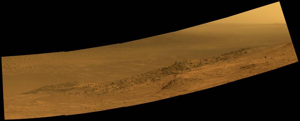 """Wharton Ridge"" on Mars"