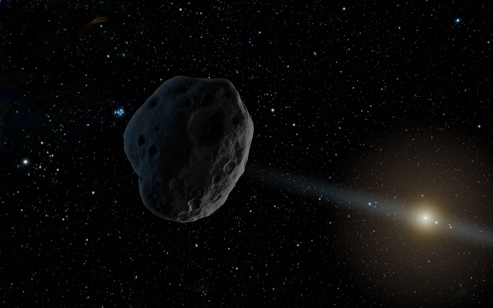 A comet strikes the earth  How to recognize meterorites  Visitors from space