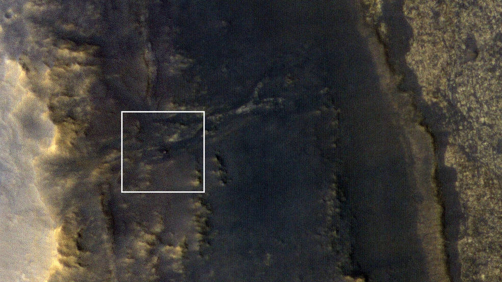 Opportunity Emerges in a Dusty Picture Pia22549-16