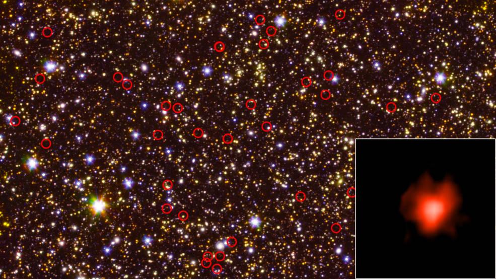 نخستین کهکشانهای کیهان درخشانتر و داغتر از آن بودهاند که میپنداشتیم