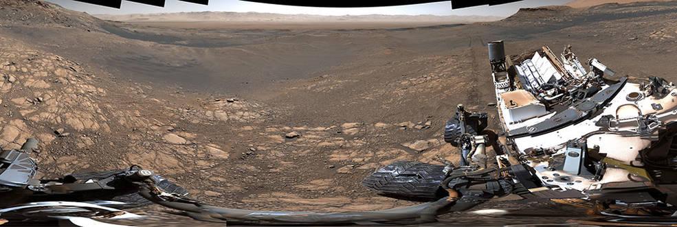 Il rover Curiosity della NASA