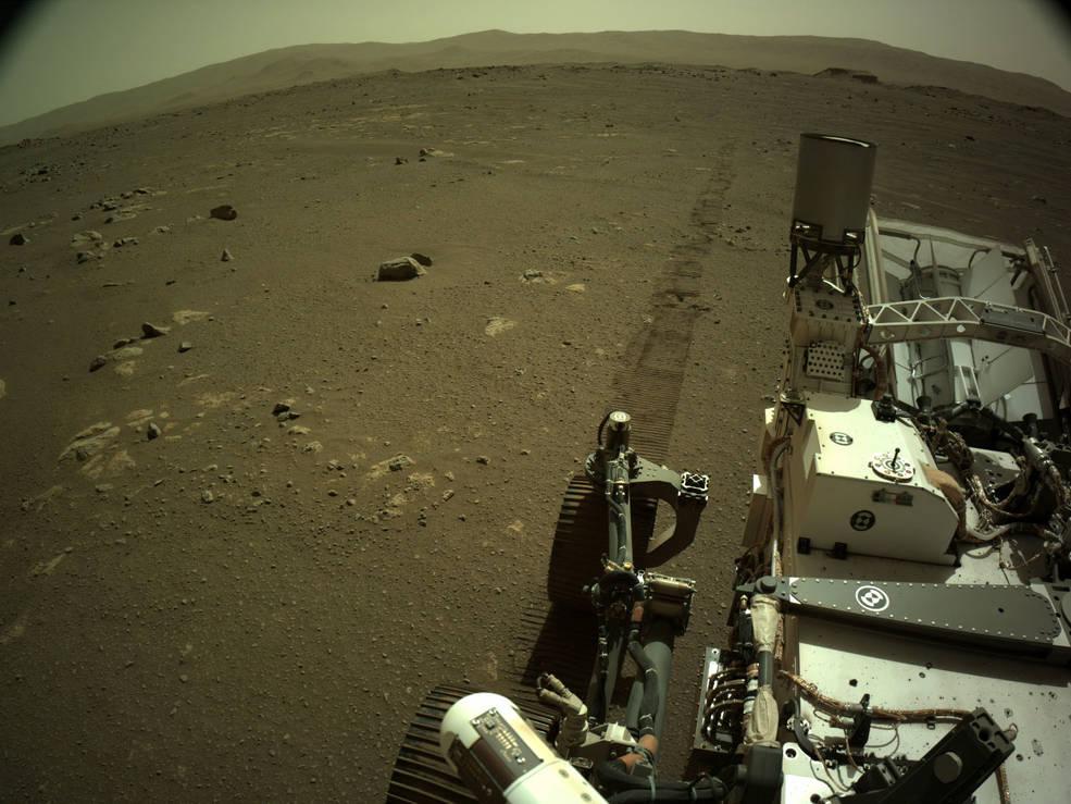 Otra primicia: recibimos los sonidos de Perseverance durante su desplazamiento en Marte