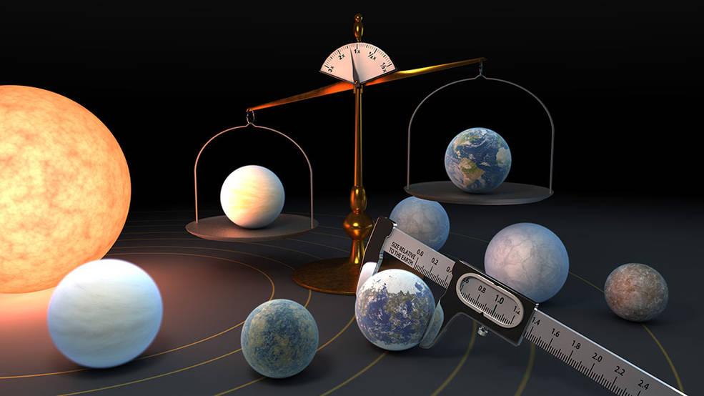 Los 7 planetas rocosos de TRAPPIST-1 pueden estar hechos de materiales similares.
