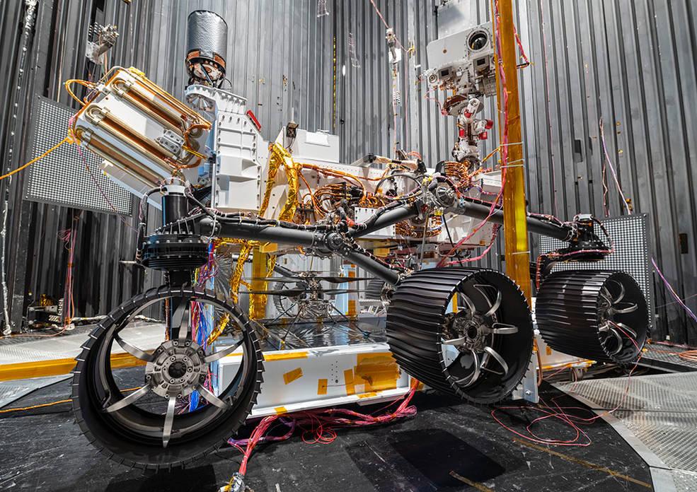 NASA의 화성 인내 로버
