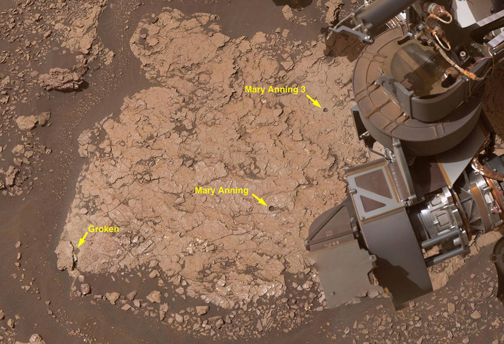NASA's Curiosity Takes Selfie on the Red Planet Pia24173-2-1041