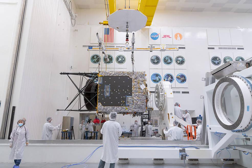 La NASA comienza el ensamblaje final de la nave espacial destinada al asteroide Psyque