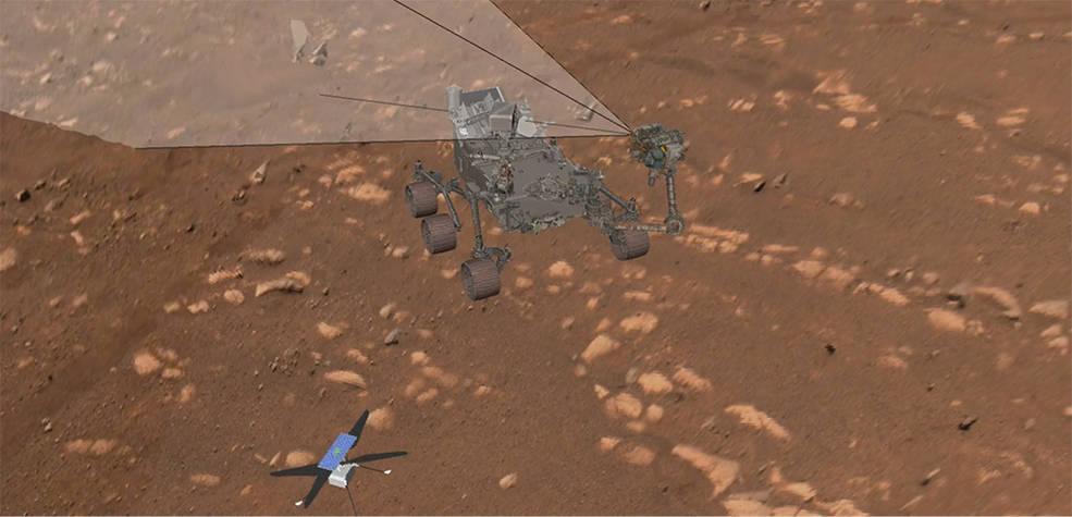 En detalle: cómo el Perseverance Rover de la NASA realizó su primer selfie