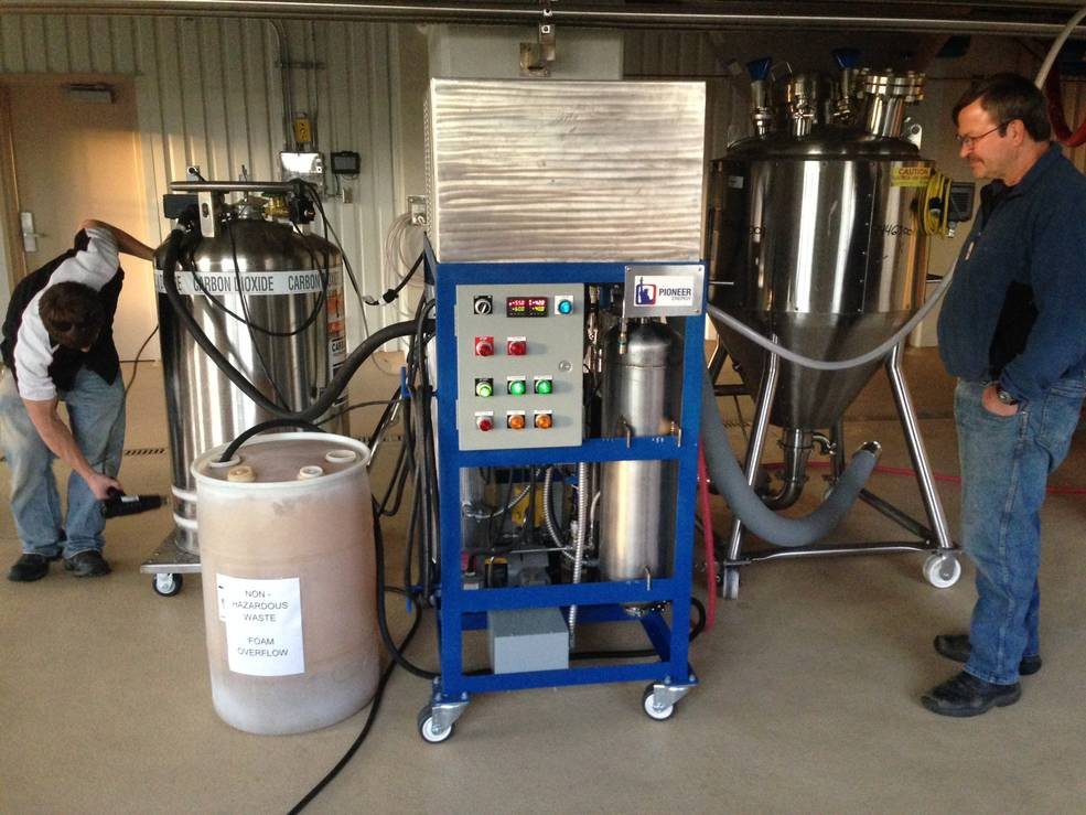 Pioneer Energy's CO2 Craft Brewery Recovery