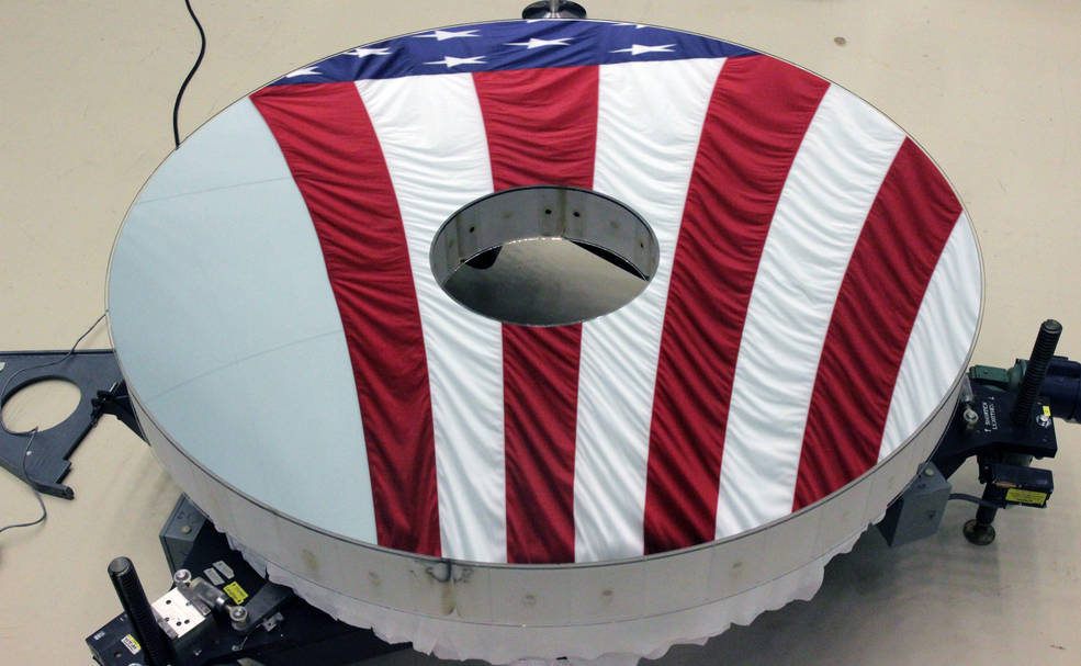 Completado el espejo primario del Roman Space Telescope de la NASA