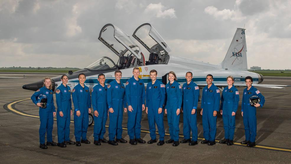 The 2017 NASA astronaut class.