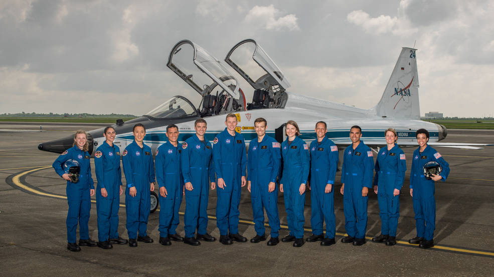 The 2017 NASA astronaut class.
