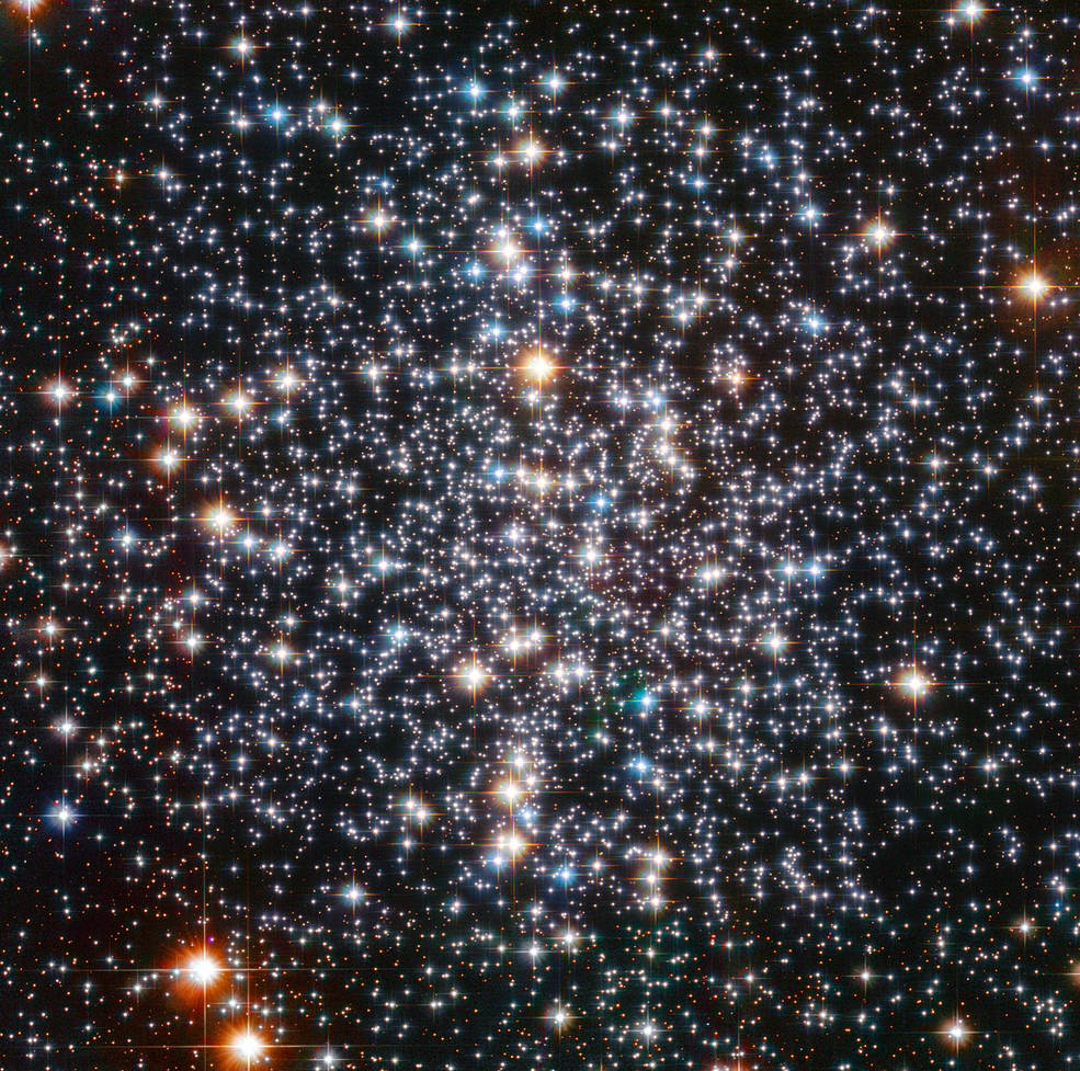 Hubble view of M4