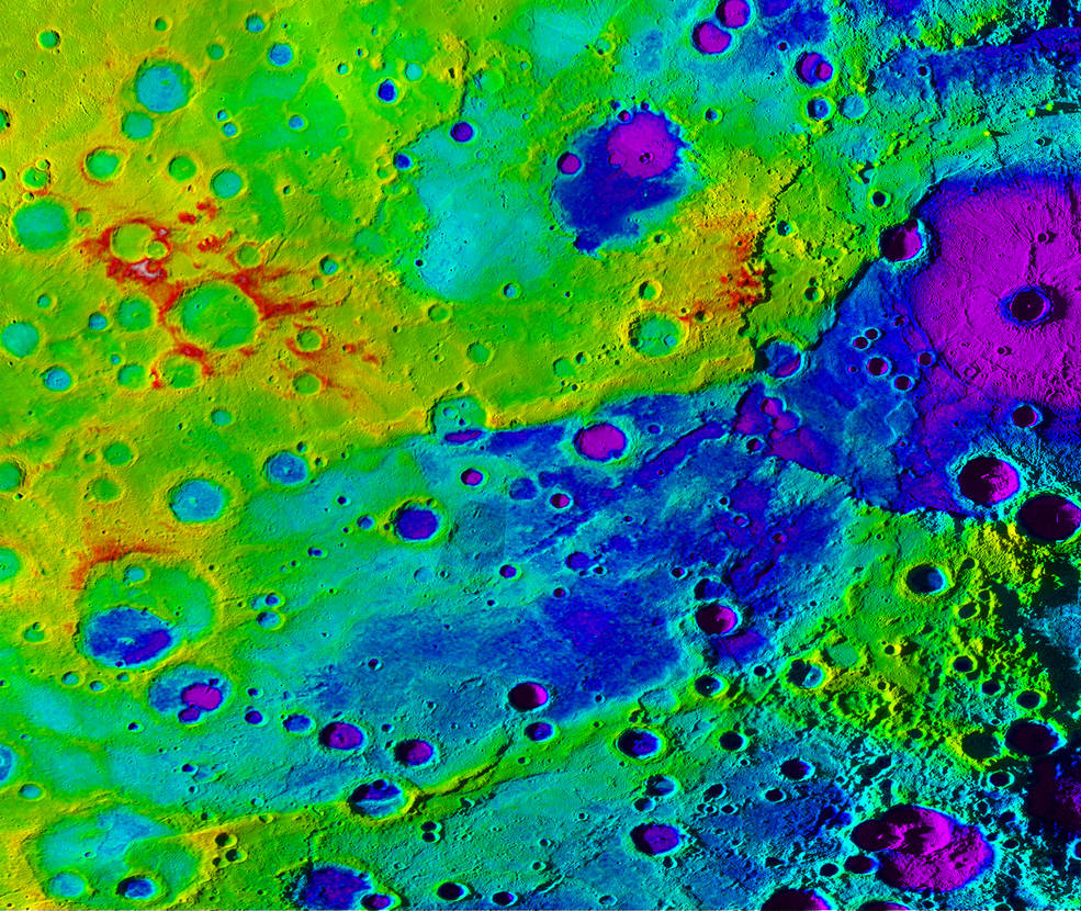 "Mercury's ""great valley"""