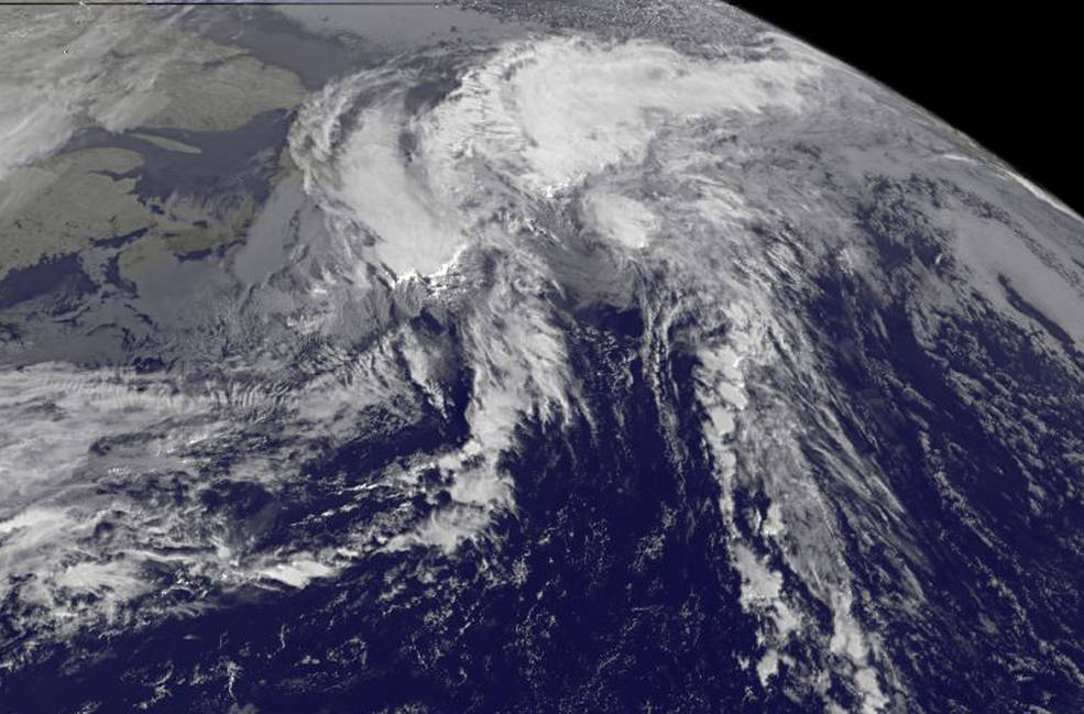 GOES-East image of Rina