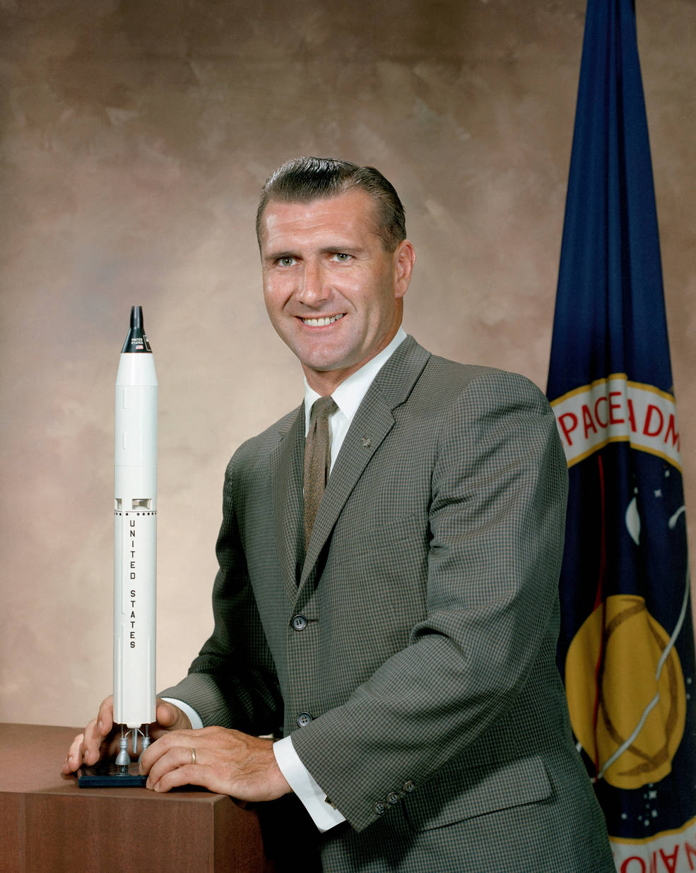 Astronaut Richard F. Gordon Jr. portrait