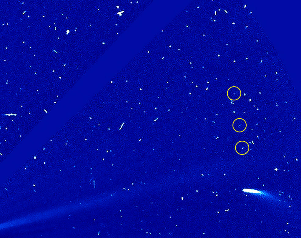 SOHO observations of comet 96P