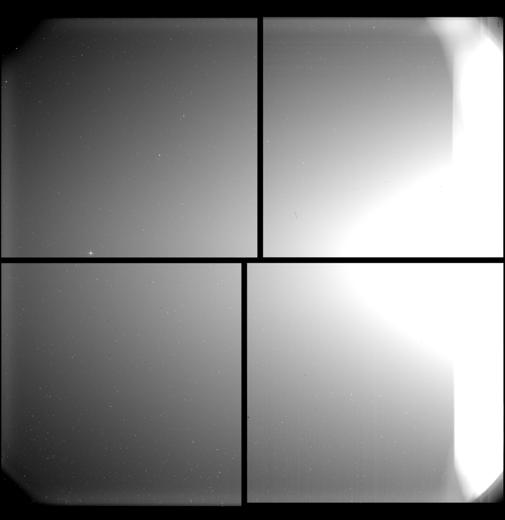 first image captured by SoloHI
