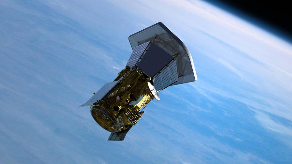 Solar Probe Plus spacecraft leaving Earth