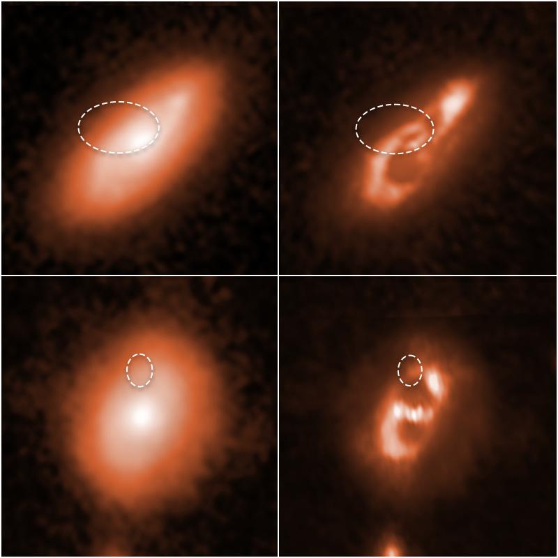 FRB signály ve spirálních galaxiích