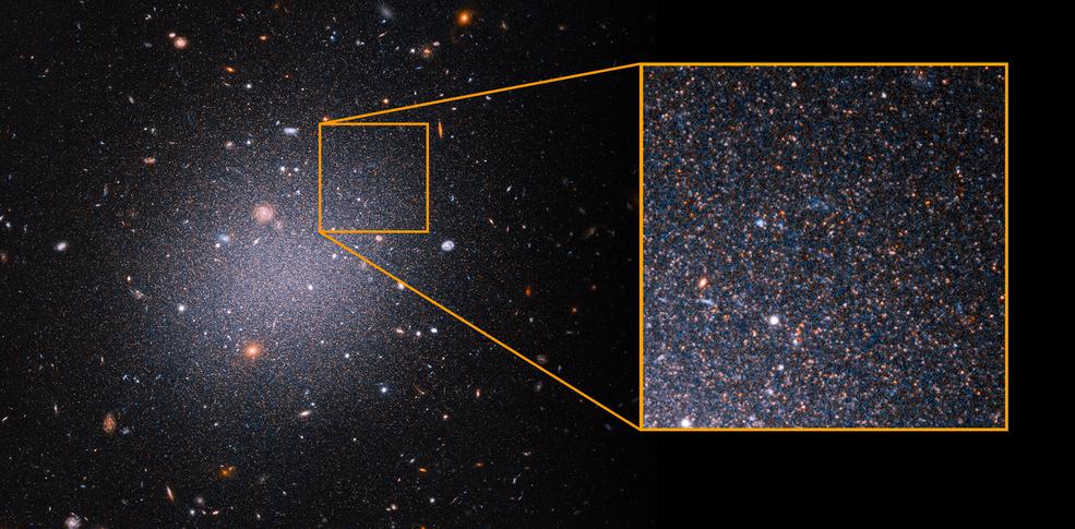 El misterio de la materia oscura en la galaxia DF2