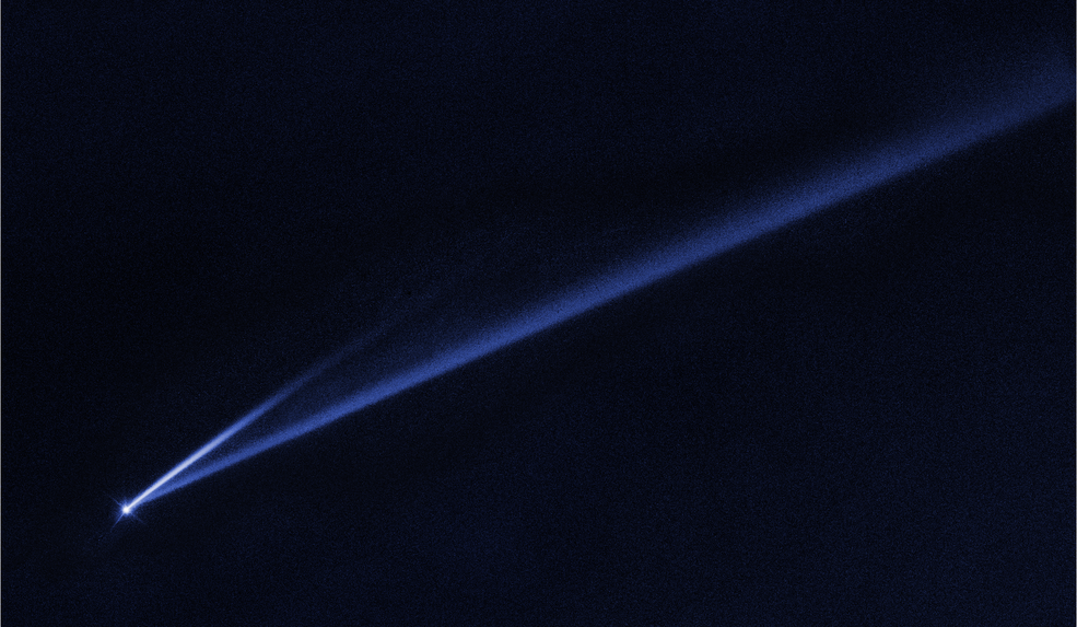 Hubble image of asteroid (6478) Gault