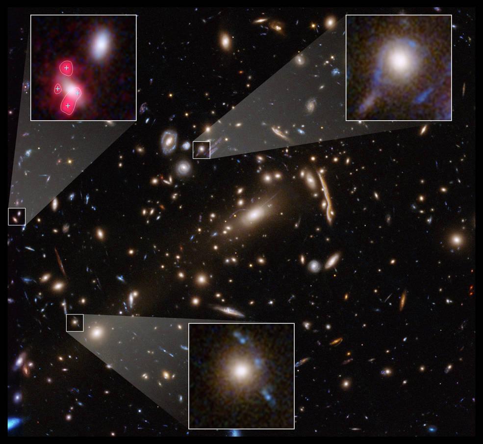 Las observaciones del Hubble sugieren la falta de un ingrediente en las teorías de la materia oscura