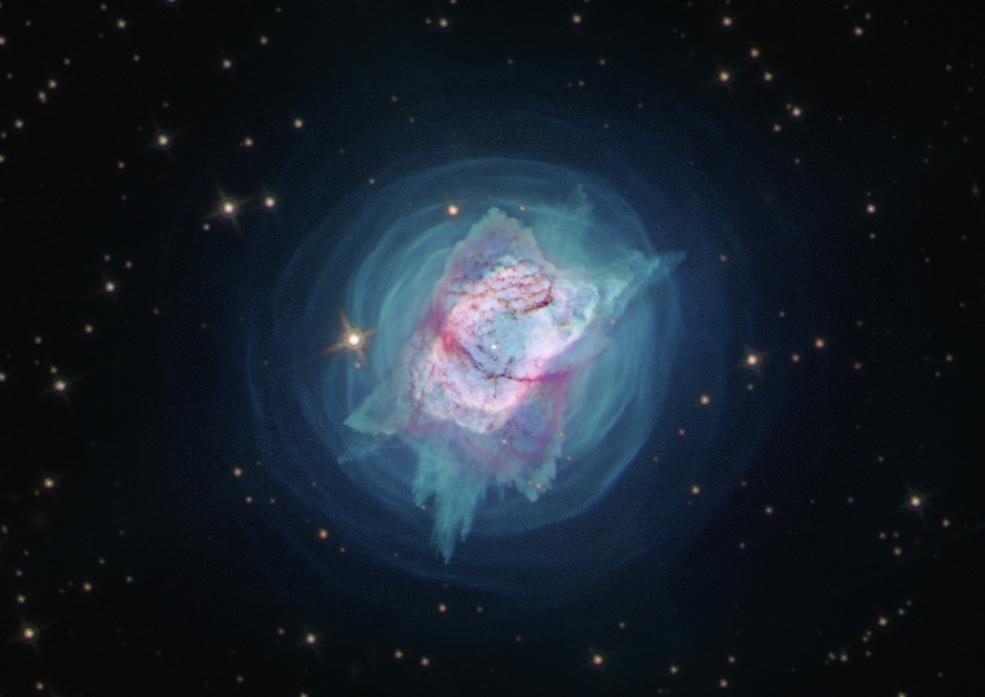 Hubble image of NGC 7027