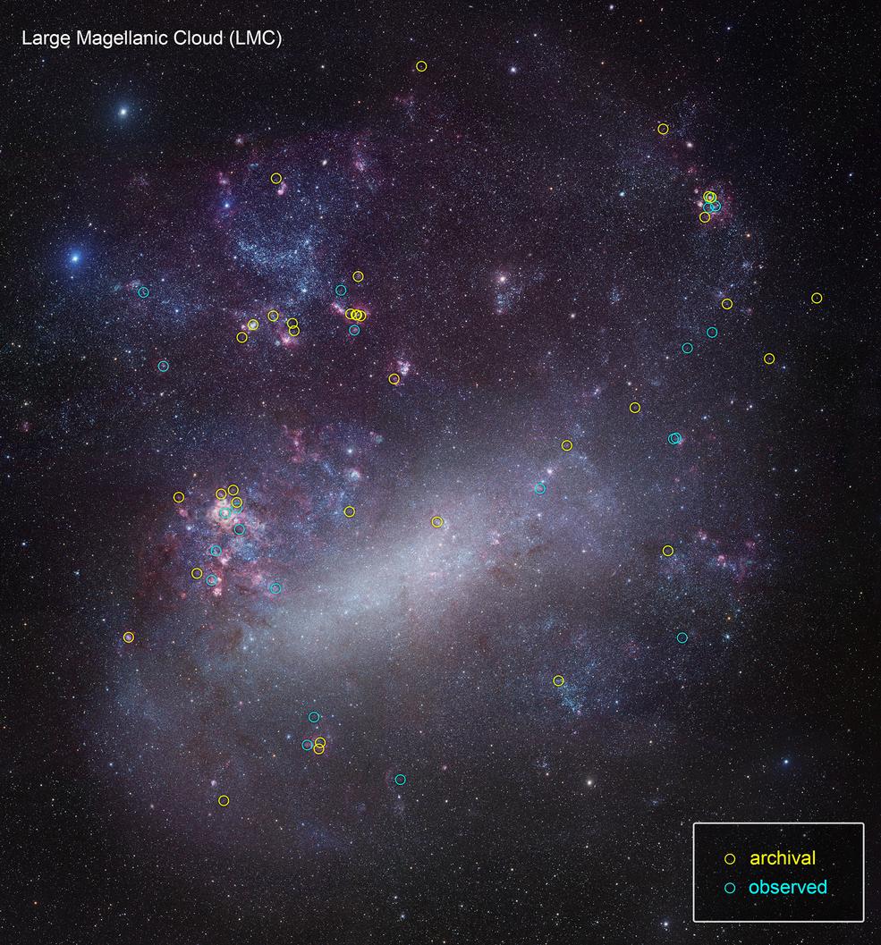 Hubble lanza un gran estudio de luz ultravioleta de estrellas cercanas.