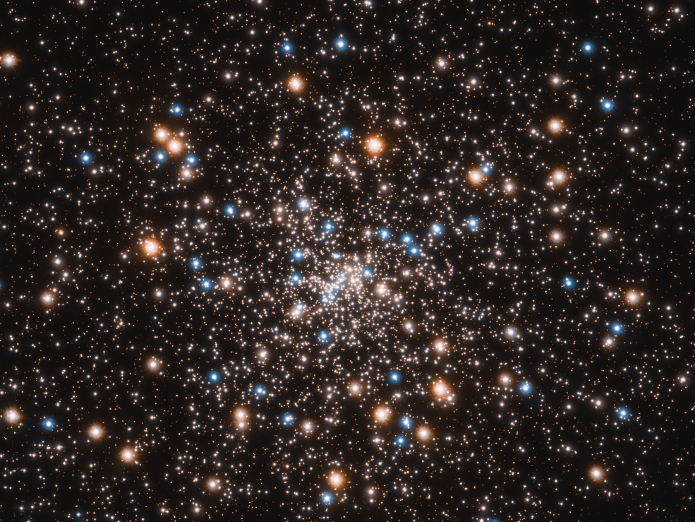 Hubble descubre novedades en la concentración espacial de agujeros negros