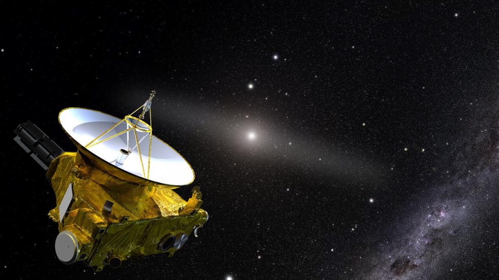 La nave espacial New Horizons responde a la pregunta: ¿Cómo de  oscuro es el espacio?