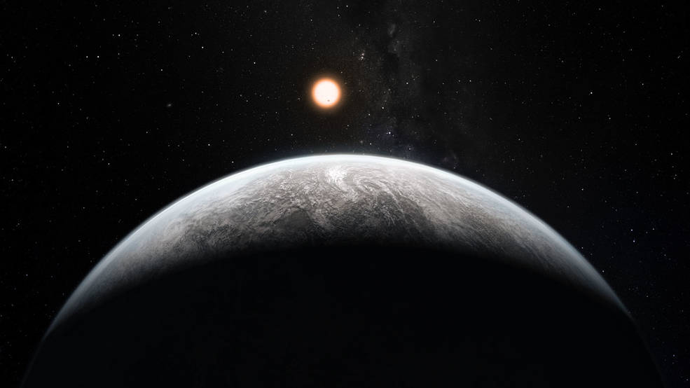 Illustration of the type of planets future telescopes, like TESS and James Webb, hope to find