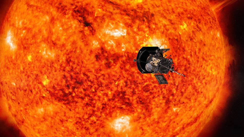Artist's concept of NASA's Parker Solar Probe