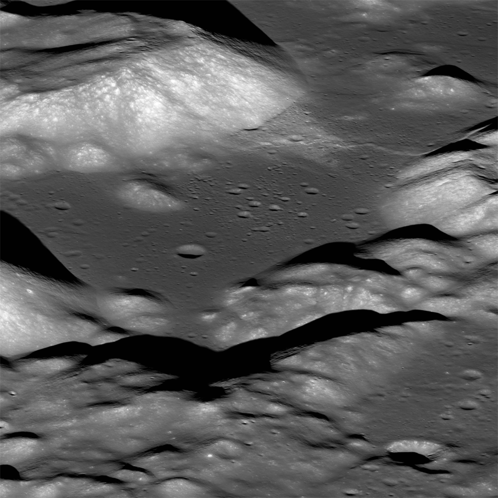 View of the Taurus-Littrow valley from the LRO spacecraft