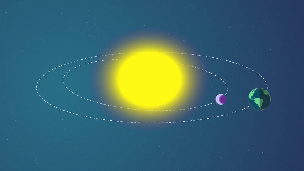 During a transit, a planet passes in between us and the star it orbits. This method is commonly used to find new exoplanets.