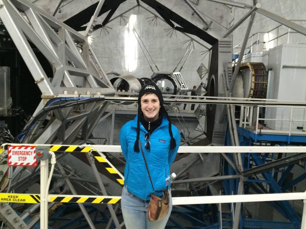 astronomer Lauren Weiss