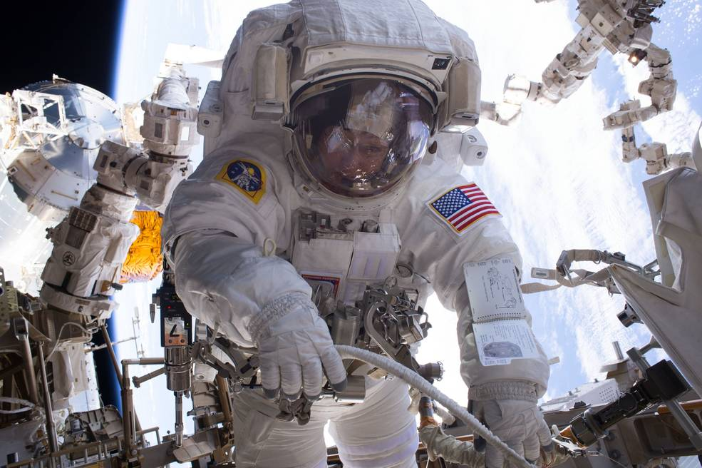 NASA astronaut Peggy Whitson holds the record for most spacewalks conducted by a female astronaut.
