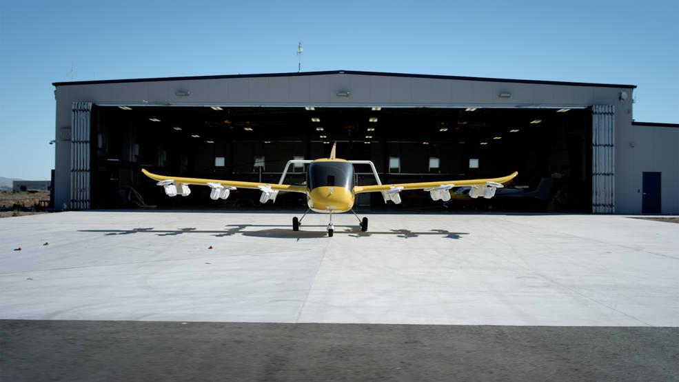 Taxi aéreo autónomo totalmente eléctrico de despegue y aterrizaje vertical (eVTOL) de Wisk.