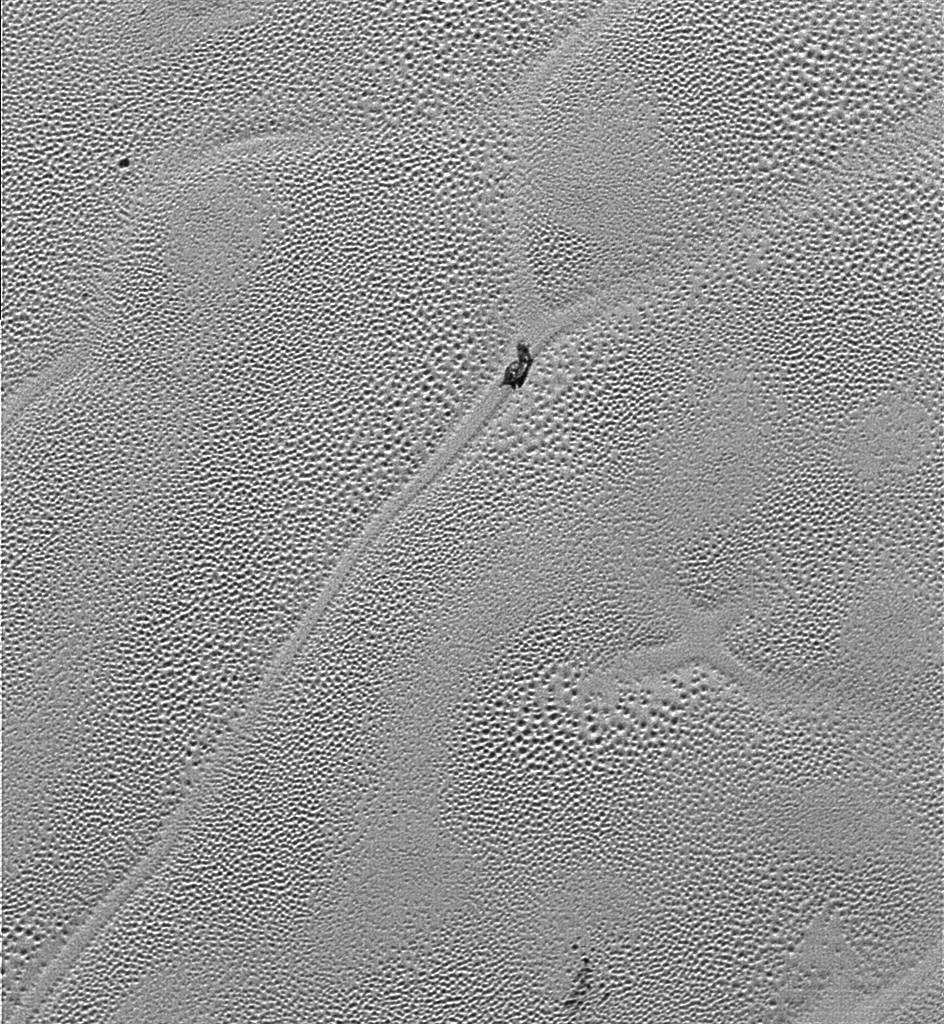 Coloring page x marks the spot -  X Marks A Curious Corner On Pluto S Icy Plains