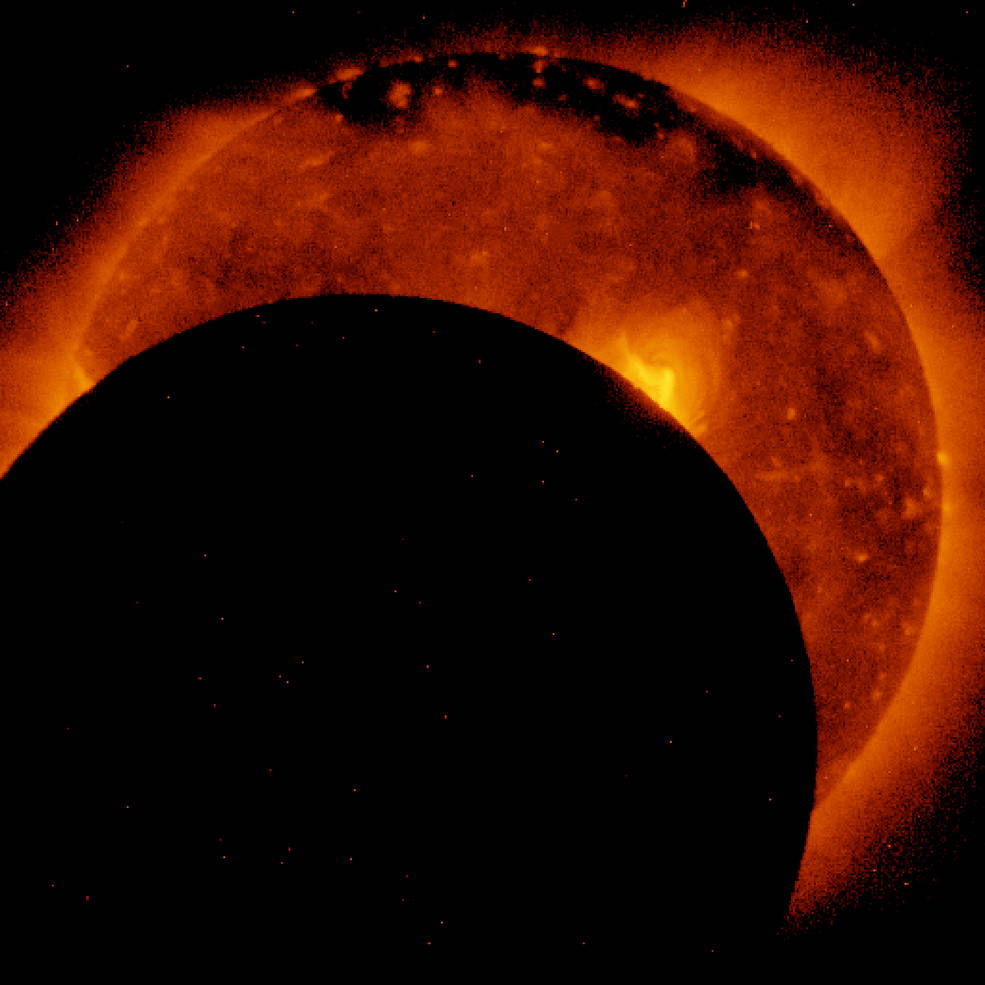 Hinode satellite views aug 21 eclipse nasa for About space